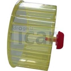 Roda da hamster c/ interior fechado plastica