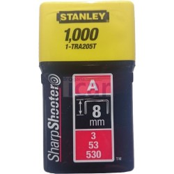 Agrafes Stanley 8mm 1-TRA205T