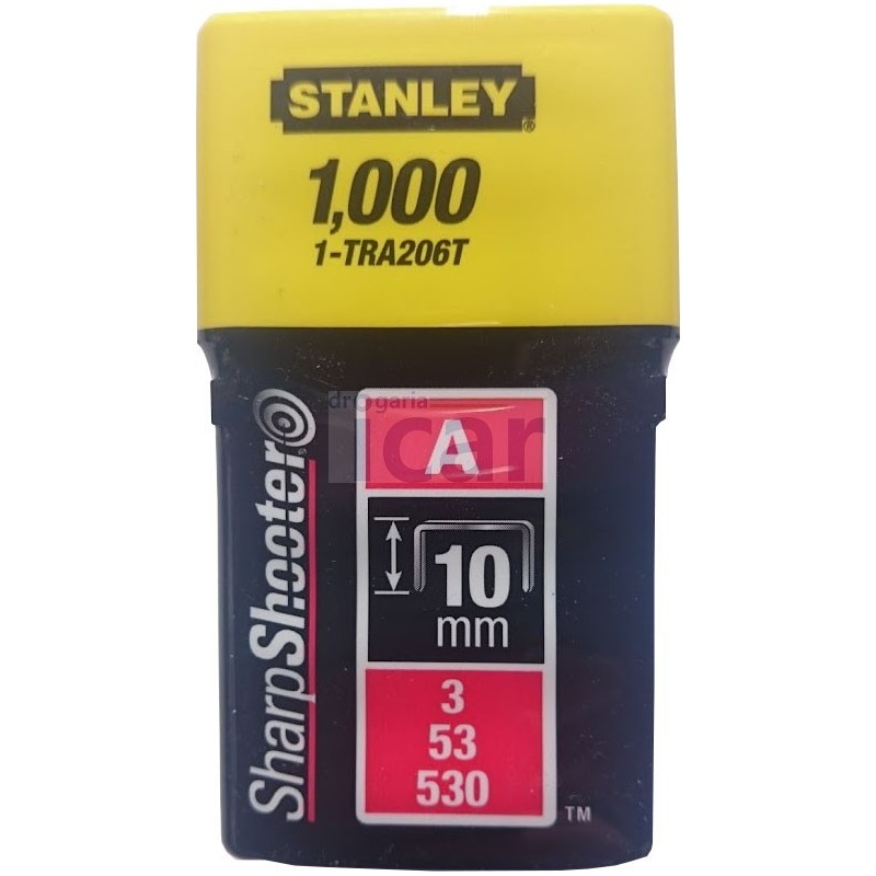 Agrafes Stanley 10mm 1-TRA206T
