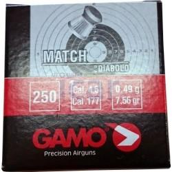 Chumbos para arma de pressão Gamo 4,5