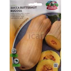 Abóbora Rugosa tipo violino semente em pacote 4,5gr