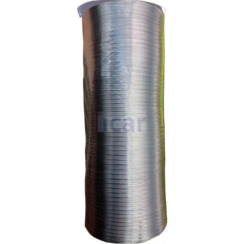 Tubo Alumínio Extensível diametro 100mm comprimento até 2 m