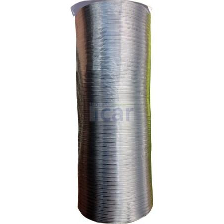 Tubo Alumínio Extensível diametro 110mm comprimento até 1,5 m
