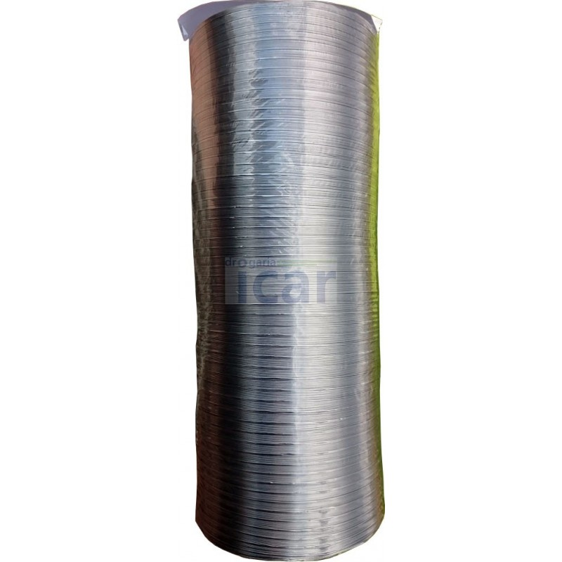 Tubo Alumínio Extensível diametro 120mm comprimento até 1,5 m