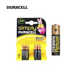 Pilhas Duracell Lr03 Simply
