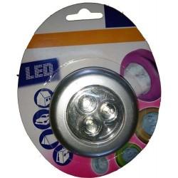 Lanterna 3 Led com Adesivo fixação