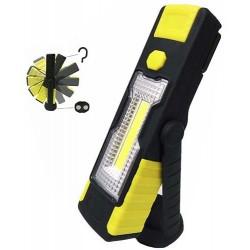 Lanterna Cob XL dupla função 1 led 3w e 1 Leds 1w com gancho e iman