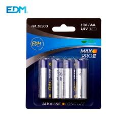 Pilhas Alcalina EDM LR06 1,5v