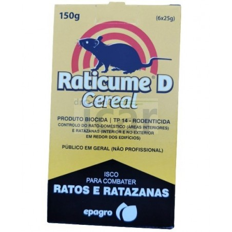 Raticume D Cereal 150 gr