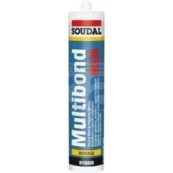 Cola e Veda Multibond MS35 Branco - Soudal
