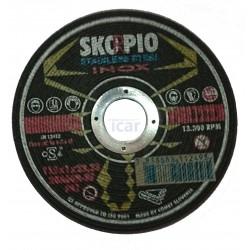 Disco corte de inox 115 Skorpio