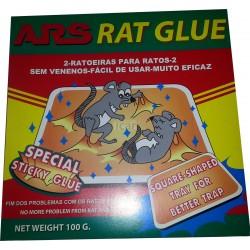 ARS Rat Glue - 2 Armadilhas para Ratos
