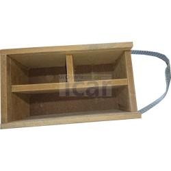 Caixa em madeira para Jogo do chincalhão
