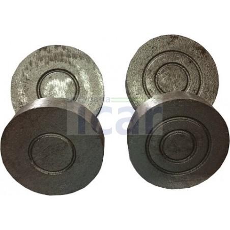 Malhas em ferro para Jogo do chincalhão