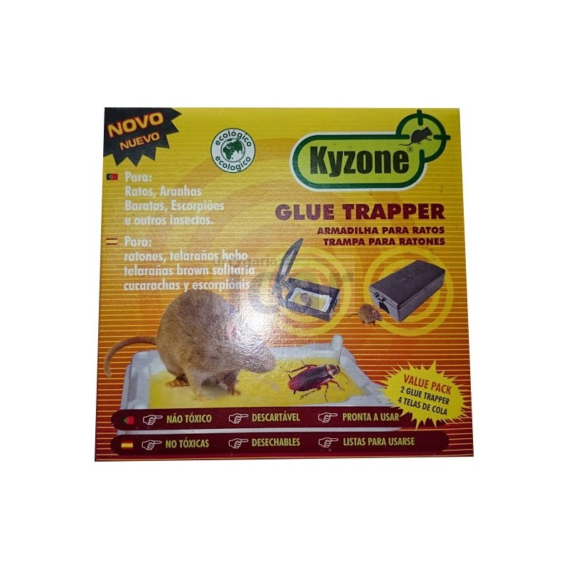 Armadilhas para ratos Kyzone Glue Trapper
