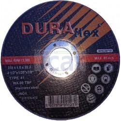 Disco Corte de Inox 115 Duraflex