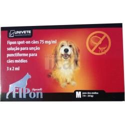 Fipon spot on cães 10 a 20 kg (3 Pipetas)