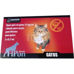 Fipon spot on Gatos (3 Pipetas)