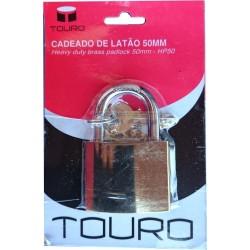 Aloquete de latão Touro 50mm