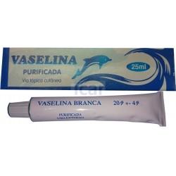 Vaselina Purificada Branca 25ml